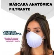 20 Máscaras Anatômicas 3 Camadas Filtrante