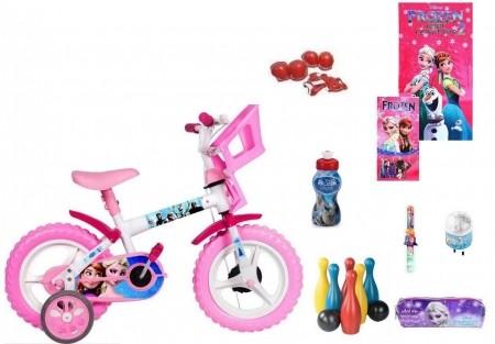 Frozen Bicicleta com 9 itens