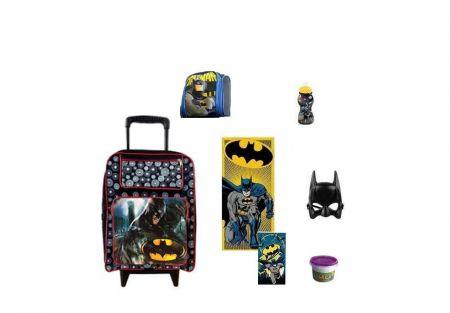 Mochila Escolar Batman 7 itens