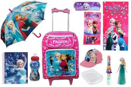 Mochila Frozen & Combo Colecionador c/ 11 Itens