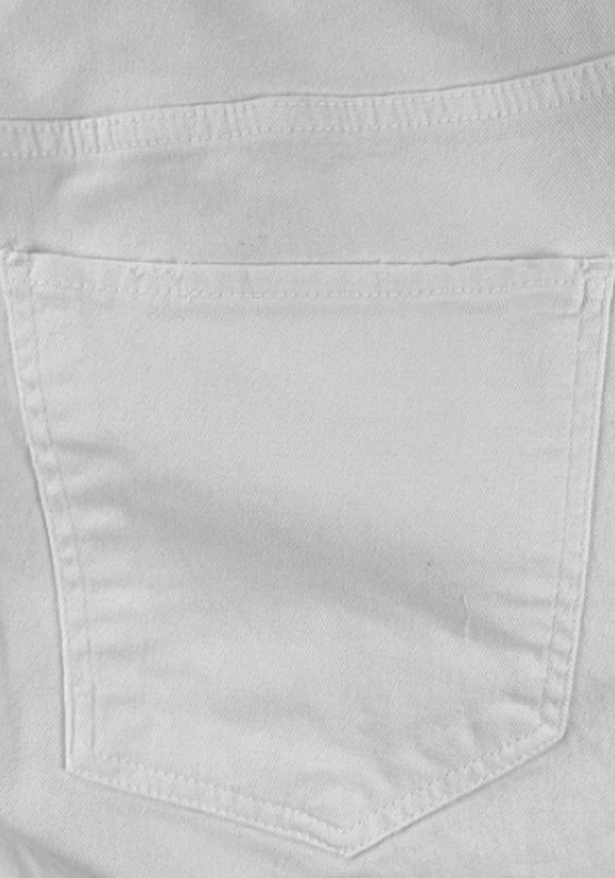 Calça em Sarja Branca