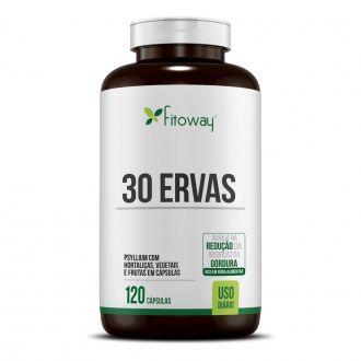 30 ERVAS 120 CAPS - FITOWAY FARMA