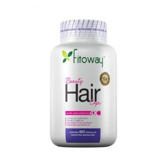 BEAUTY HAIR CAPS FITOWAY - 60 CÁPS