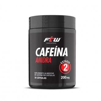CAFEÍNA ANIDRA FTW - 30 CÁPS
