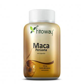 MACA PERUANA FITOWAY 500mg - 60 CÁPSULAS