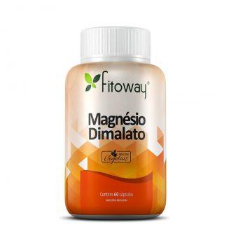 MAGNÉSIO DIMALATO FITOWAY - 60 CÁPS