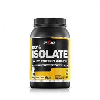 WHEY PROTEIN 100% ISOLATE FTW - 900G