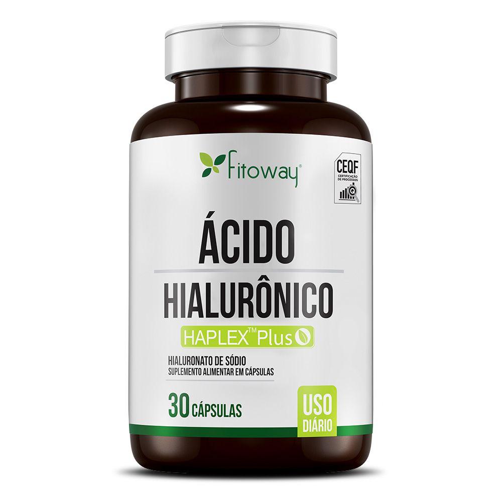 ÁCIDO HIALURÔNICO FITOWAY CLEAN - 30 CÁPS