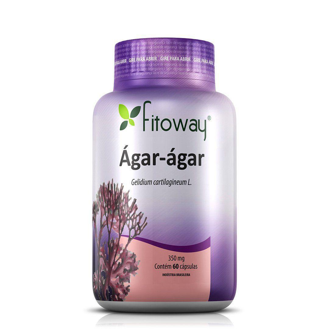 Ágar-Ágar 60 cáps - Fitoway