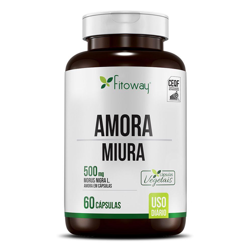 AMORA MIURA FITOWAY CLEAN - 60 CÁPS