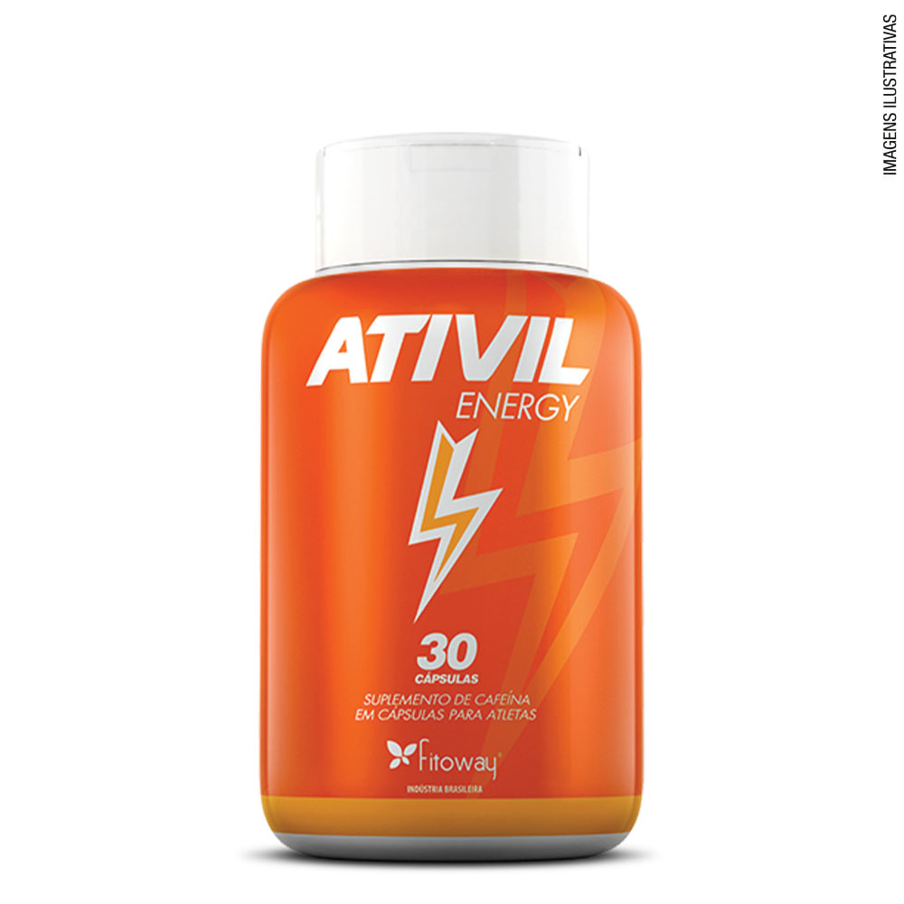 Ativil Energy 30 cáps - Fitoway