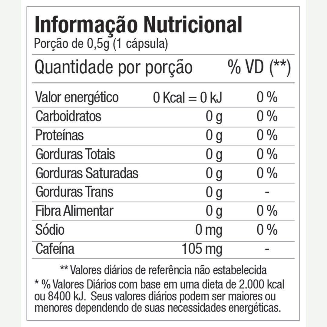ATIVIL ENERGY CAFEÍNA FITOWAY - 30 CÁPSULAS
