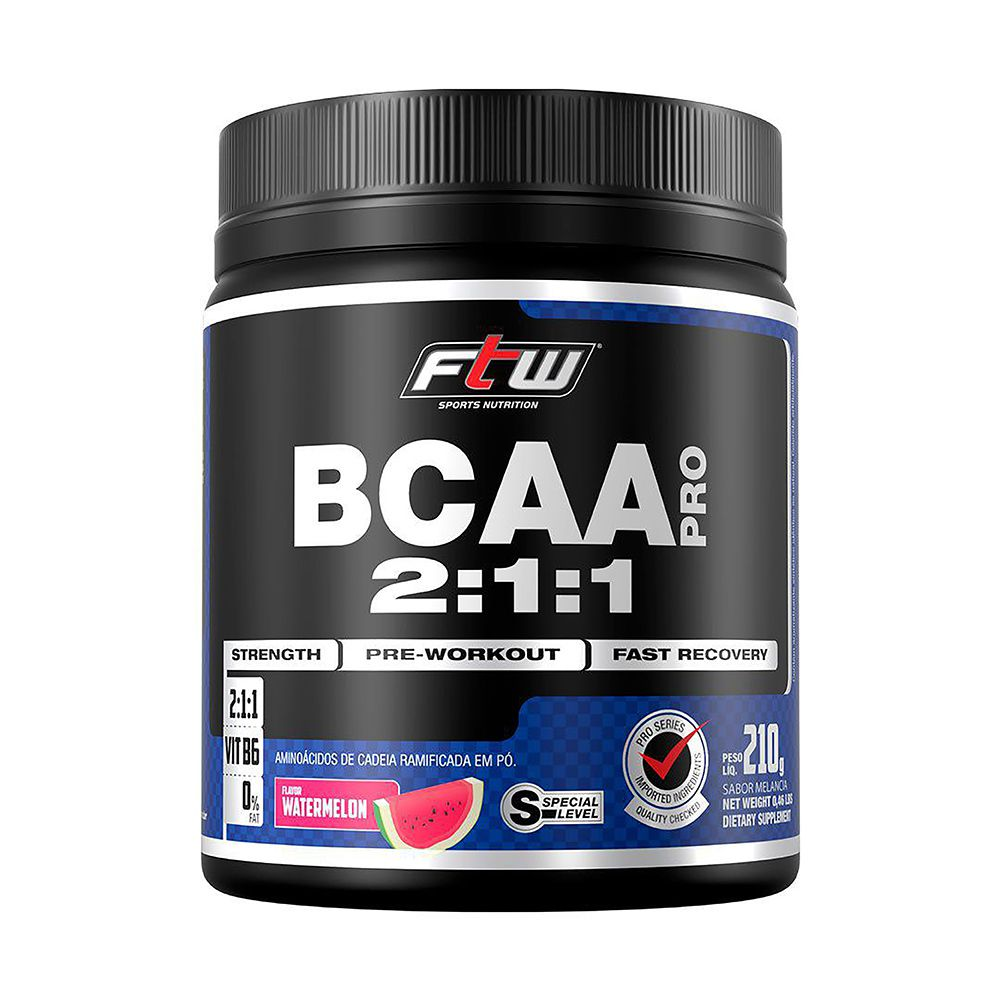 BCAA Pró 210g - FTW