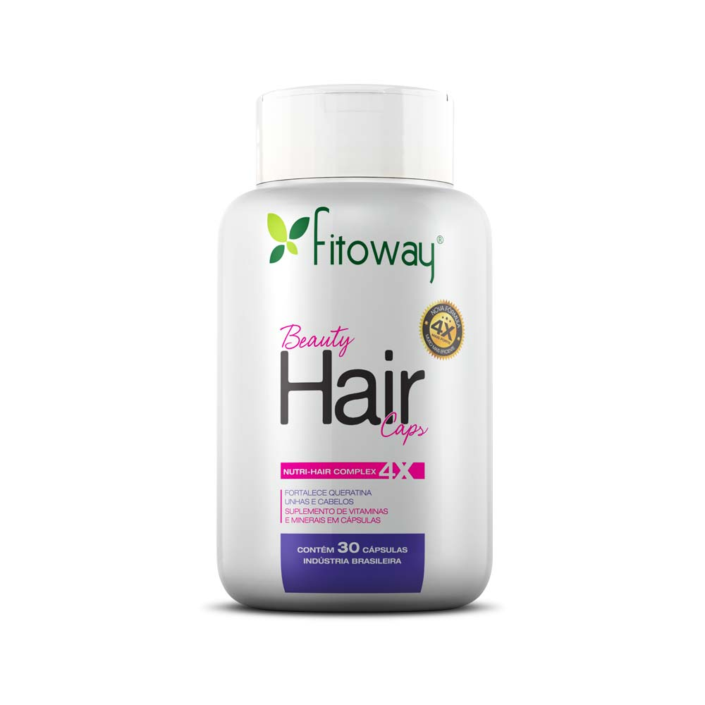 Beauty Hair 30 cáps - Fitoway