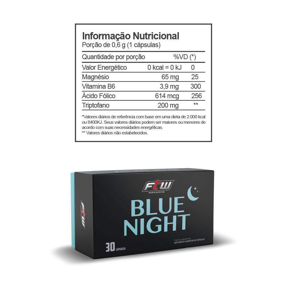 BLUE NIGHT FTW - 30 CÁPSULAS