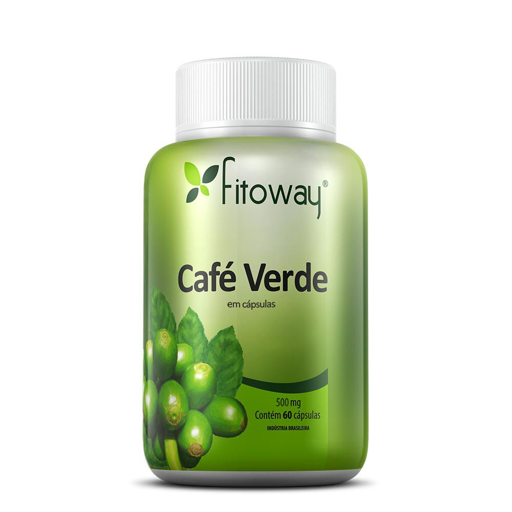 CAFÉ VERDE FITOWAY - 60 CÁPSULAS