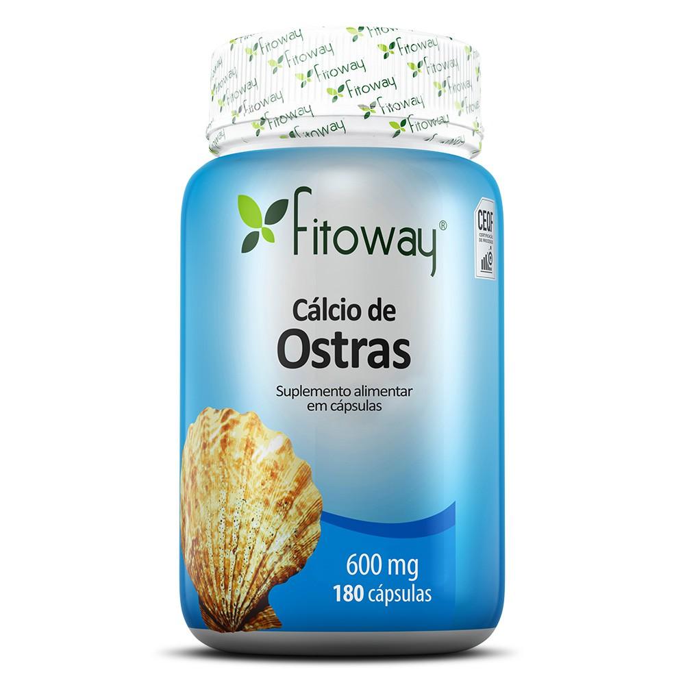 Cálcio de Ostras 180 cáps – Fitoway