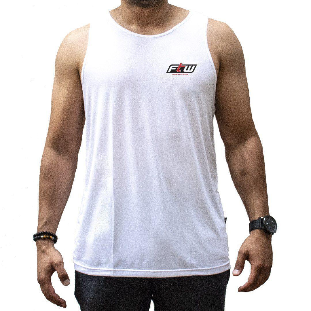 Camiseta Regata FTW Branca