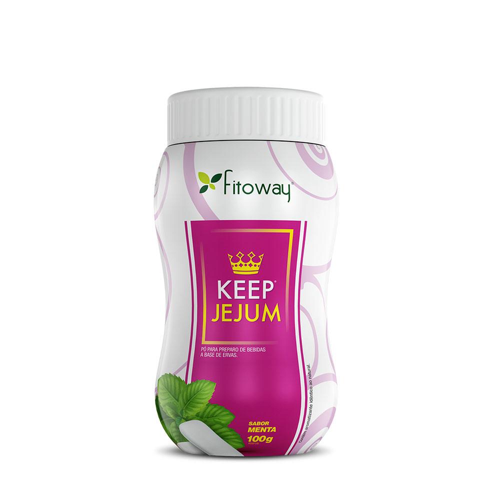Chá Keep Jejum Fitoway Menta - 100g