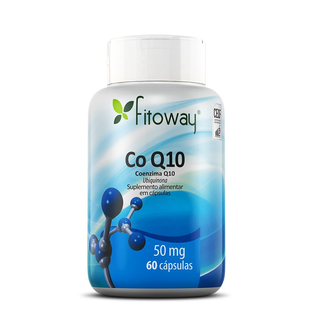 COENZIMA Q-10 FITOWAY - 60 CÁPS