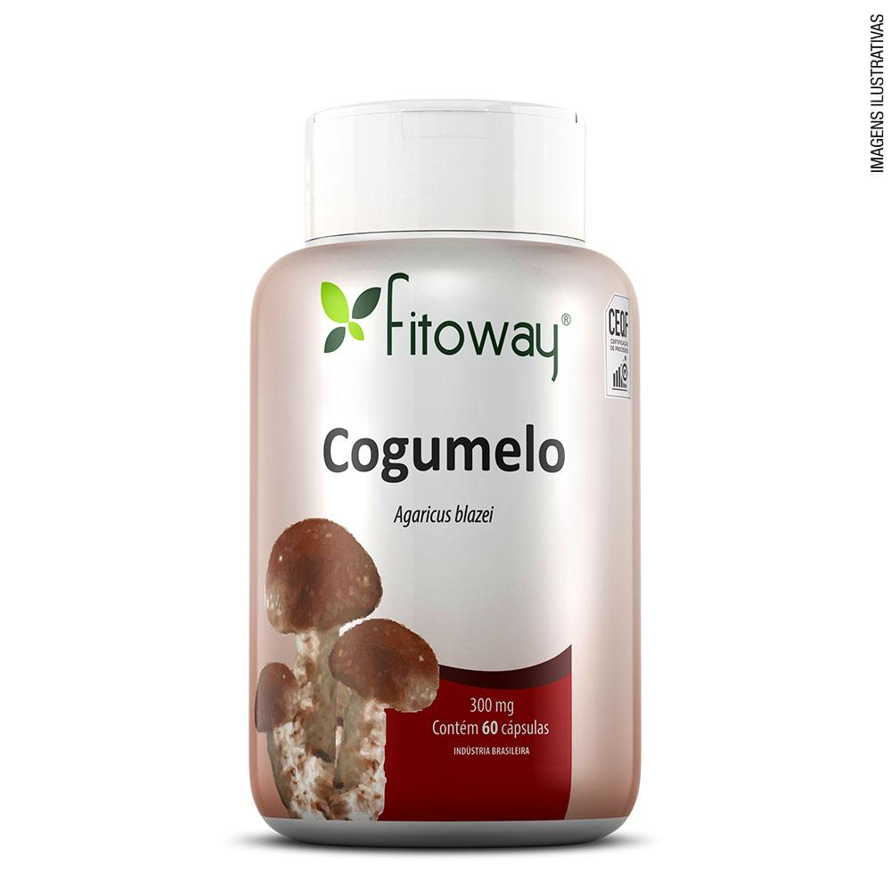 Cogumelo Agaricus 60 cáps – Fitoway