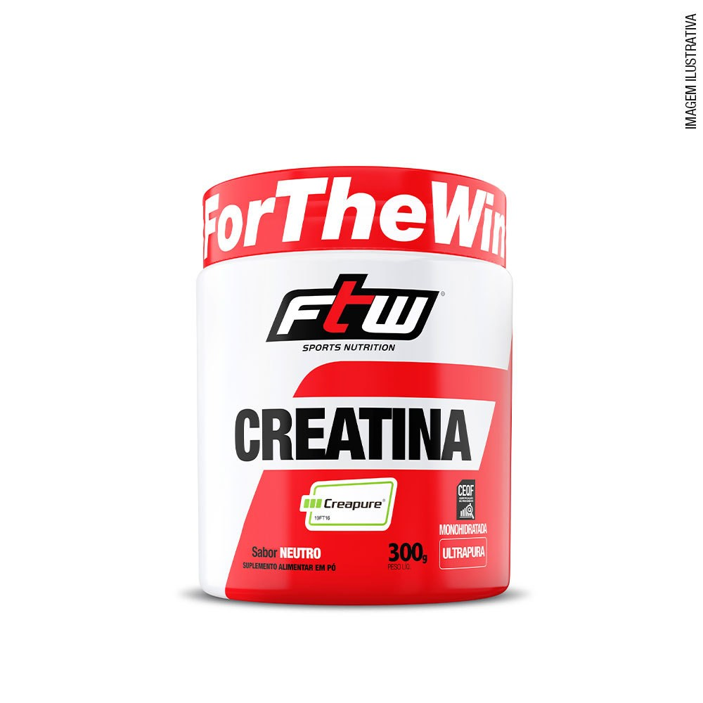 Creatina - feita de Creapure® FTW 300g