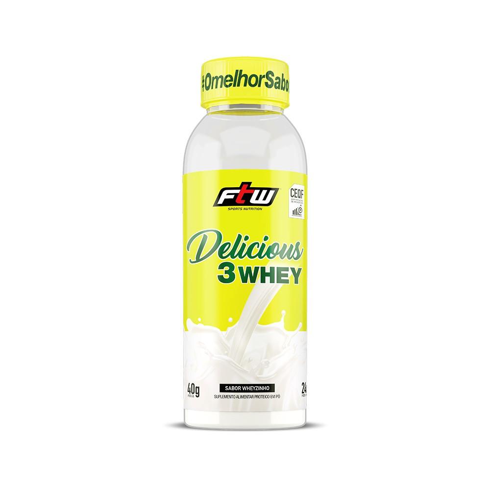 Delicious 3 Wheyzinho Dose Única 40g - FTW