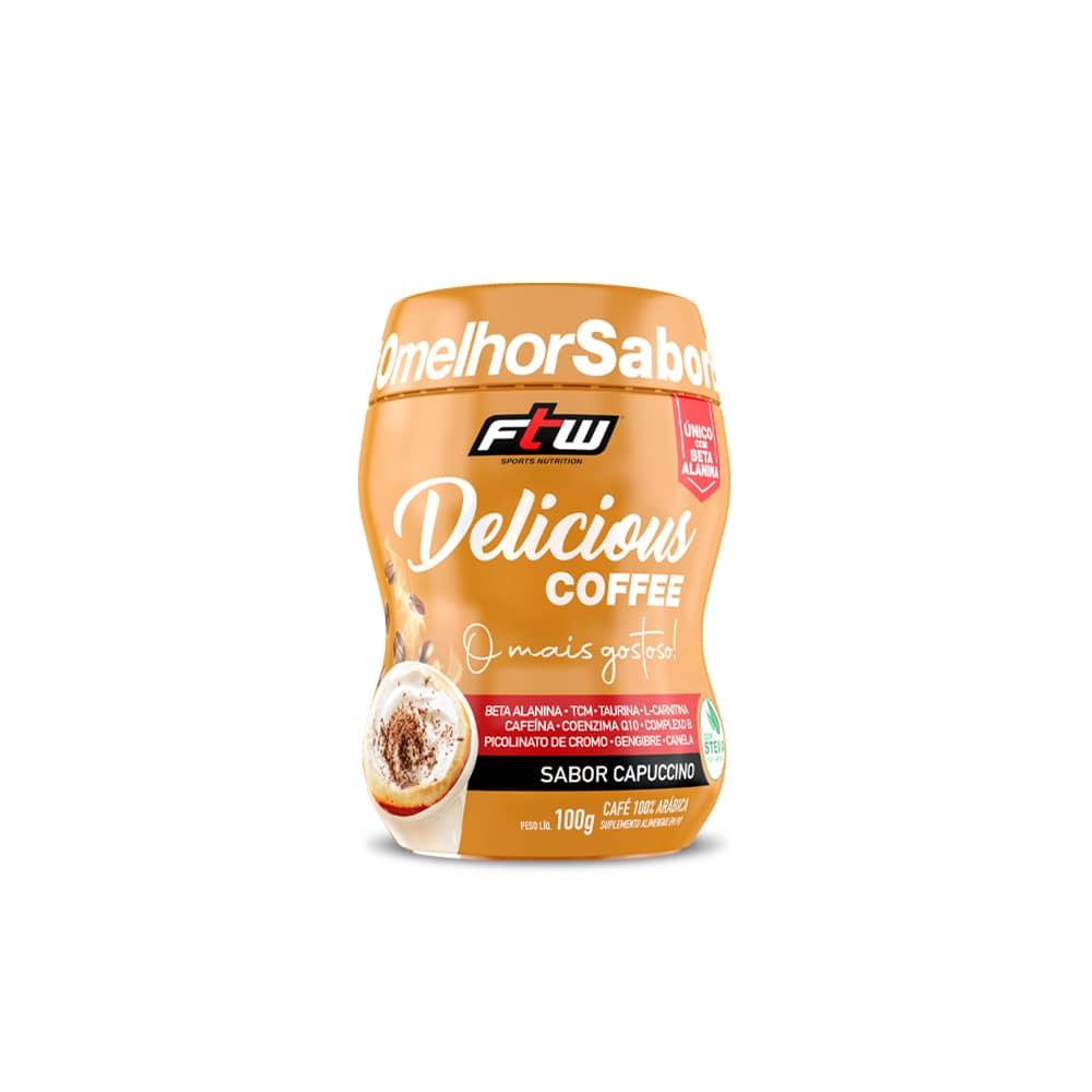 Delicious Coffee - 100g - Sabor Capuccino