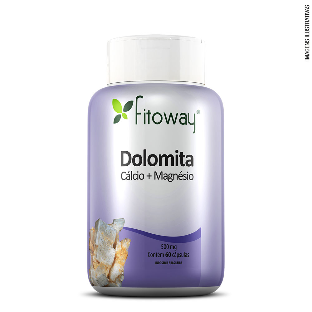 Dolomita  Fitoway - 60 cáps