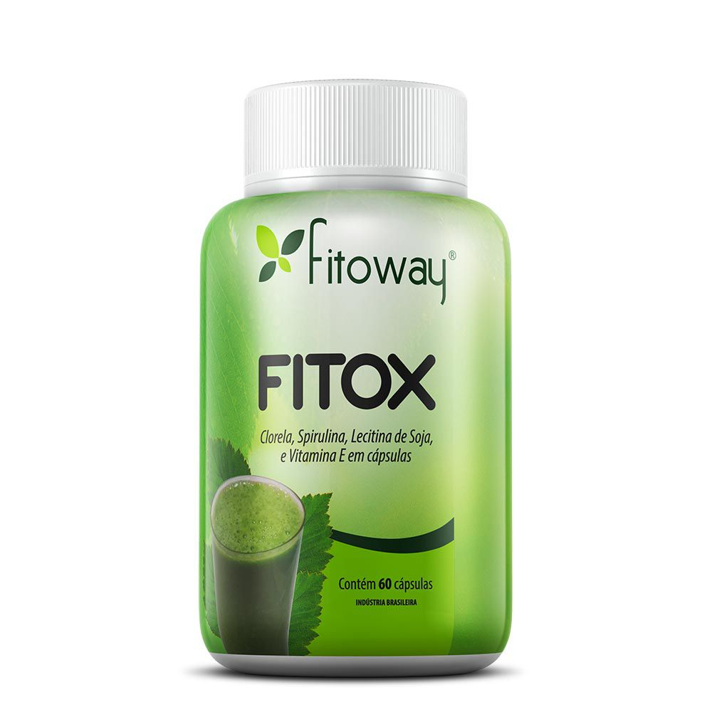 Fitox Fitoway - 60 cáps