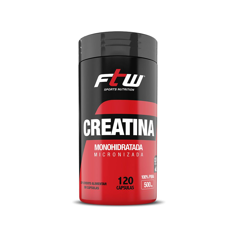 FTW Creatina 500mg - 120 cáps