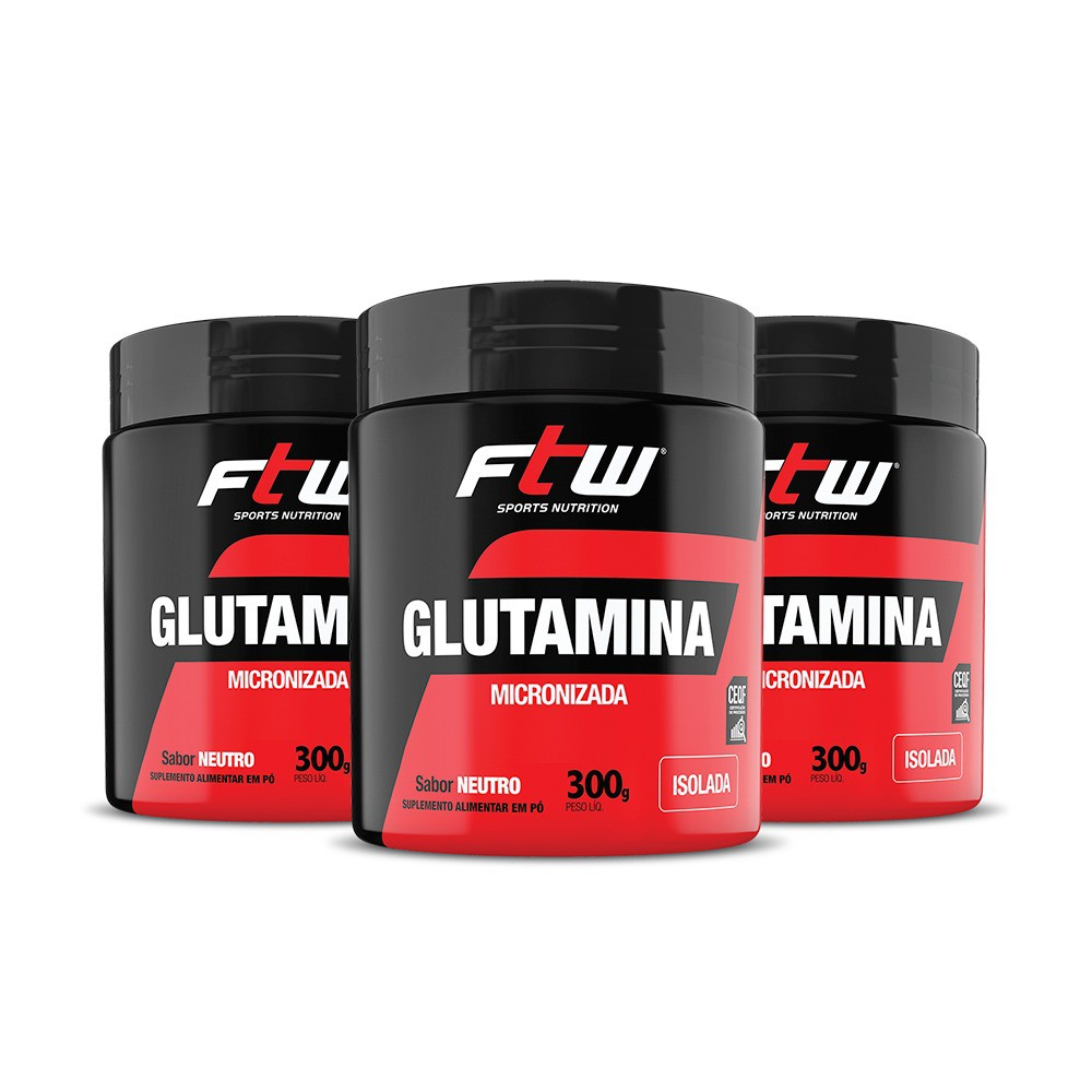 GLUTAMINA FTW 3x - 300g