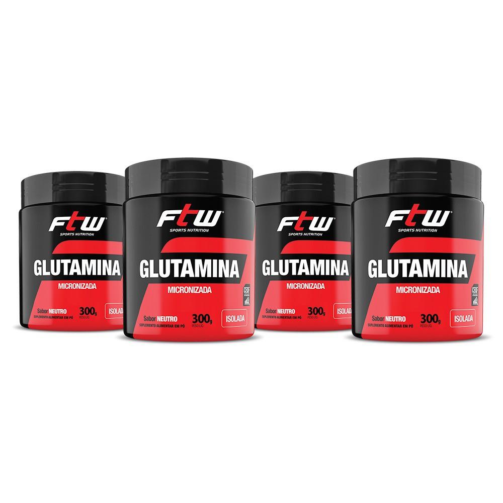 GLUTAMINA FTW 4x - 300g