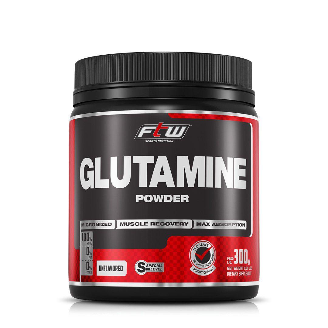 GLUTAMINA POWDER 300G FTW  - Loja FTW