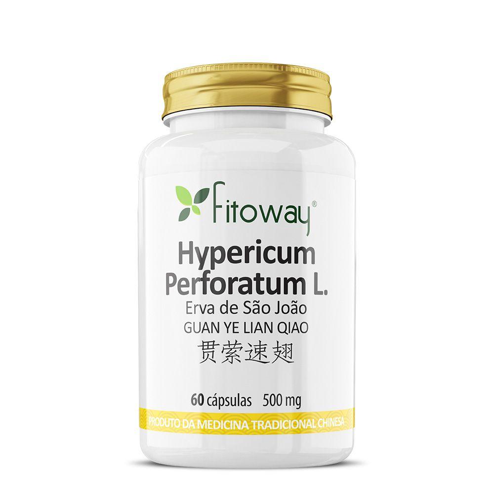 HYPERICUM PERFORATUM L. FITOWAY - 60 CÁPS