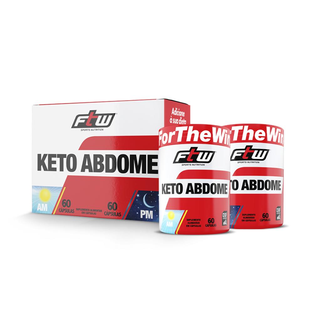 Keto Abdome AM/PM 120 cáps - FTW