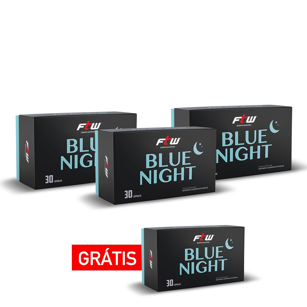 KIT BLUE NIGHT COMPRE 3 E LEVE 4 - FTW