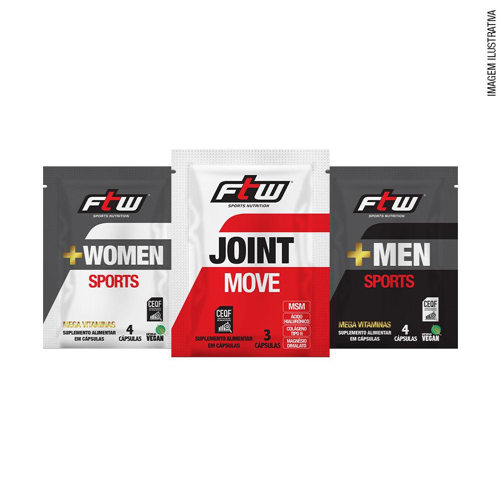 Kit dose única +Men Sports + Joint Move e +Women Sports