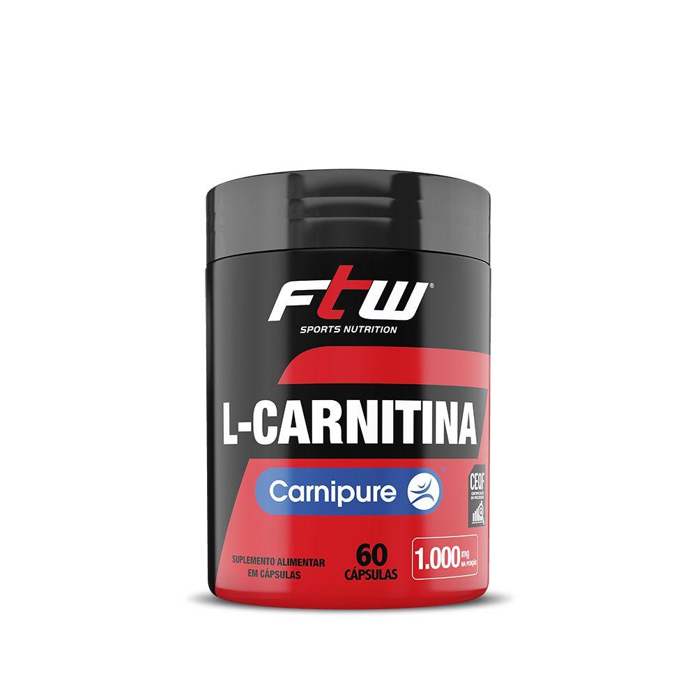L-CARNITINA CARNIPURE® FTW 500mg - 60 CÁPS