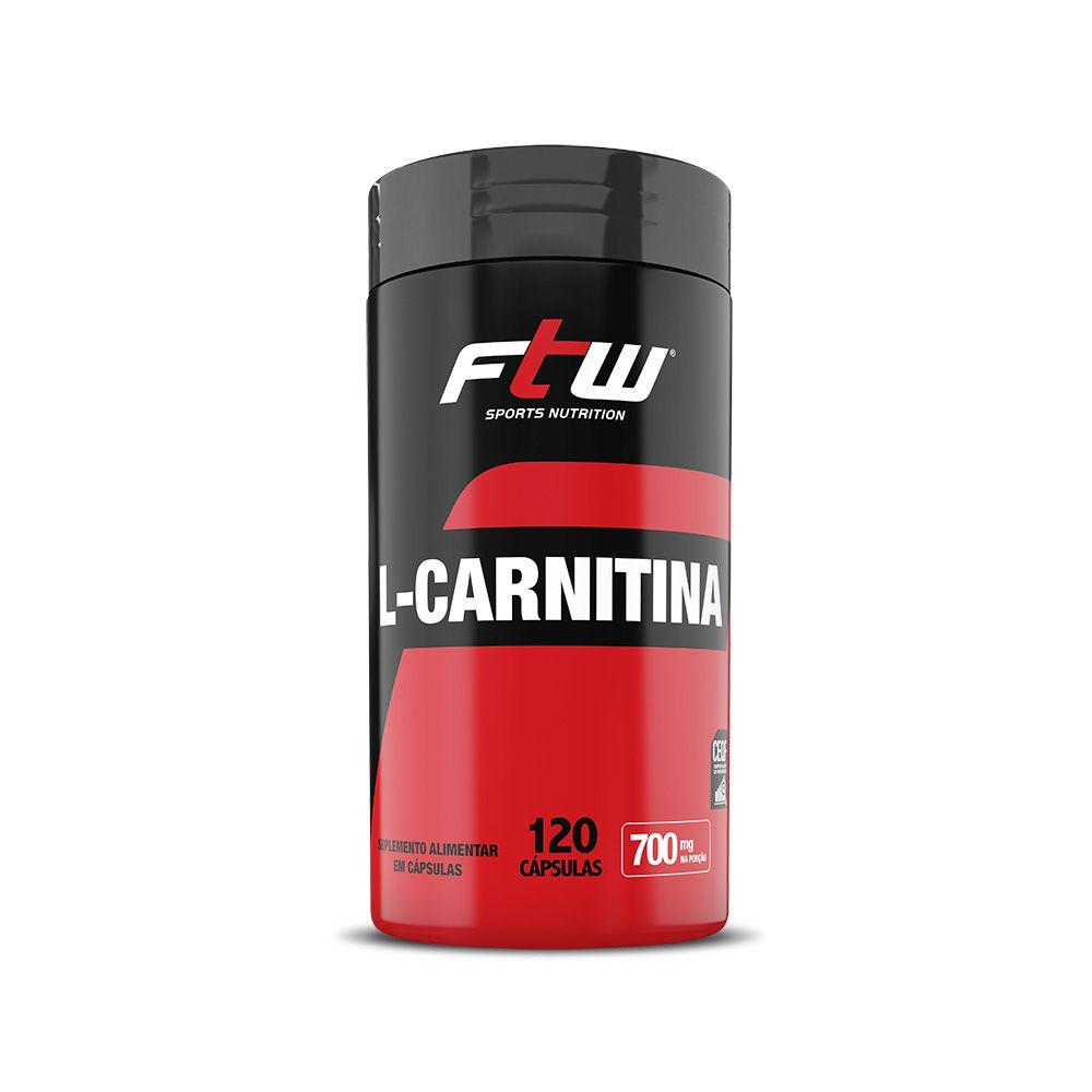 L-CARNITINA FTW 350mg - 120 CÁPS