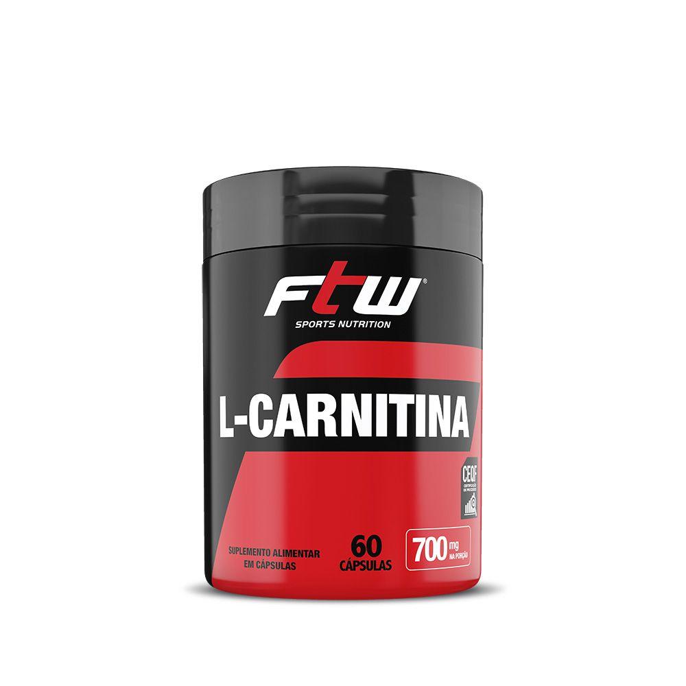 L-CARNITINA FTW 350mg - 60 CÁPS