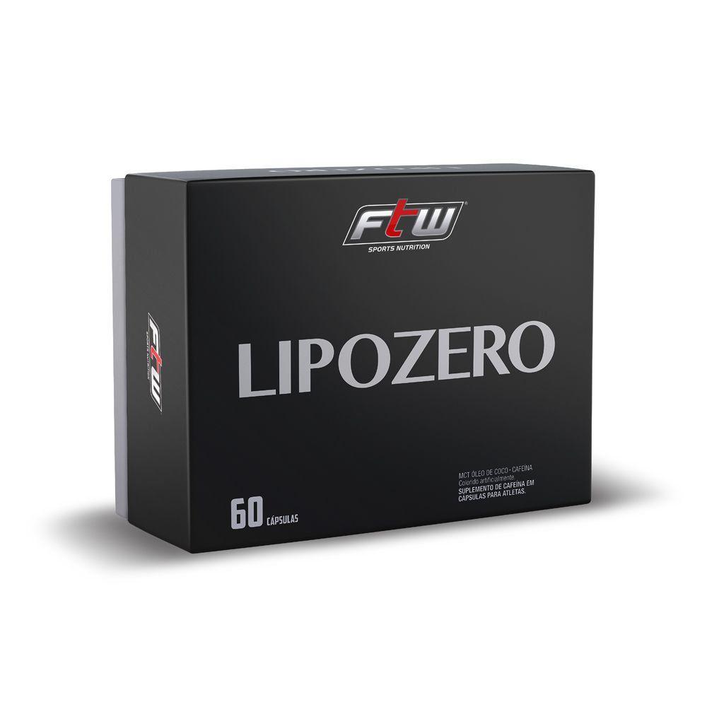 LIPOZERO FTW 60 CÁPSULAS