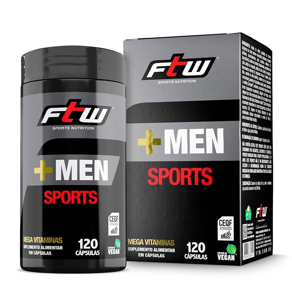 +MEN Sports 120 cáps - FTW