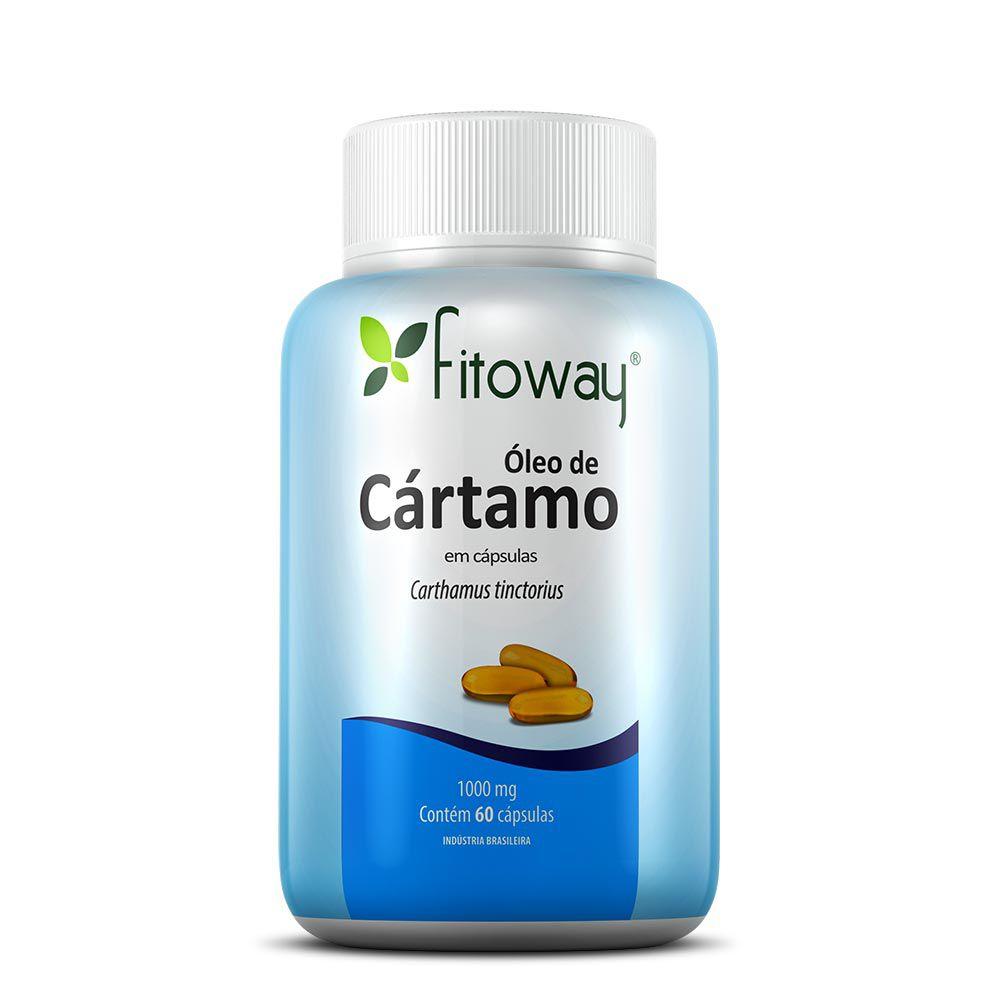 ÓLEO DE CÁRTAMO FITOWAY 1.000mg - 60 CÁPSULAS