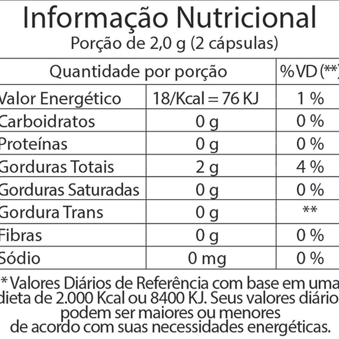 ÓLEO DE OLIVA FITOWAY 1000mg - 60 CÁPSULAS