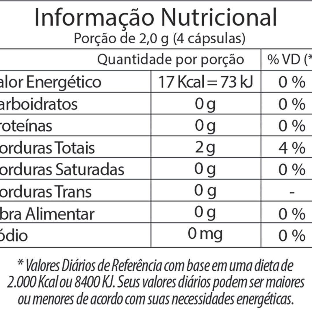 ÓLEO DE PRÍMULA FITOWAY 500mg - 60 CÁPSULAS