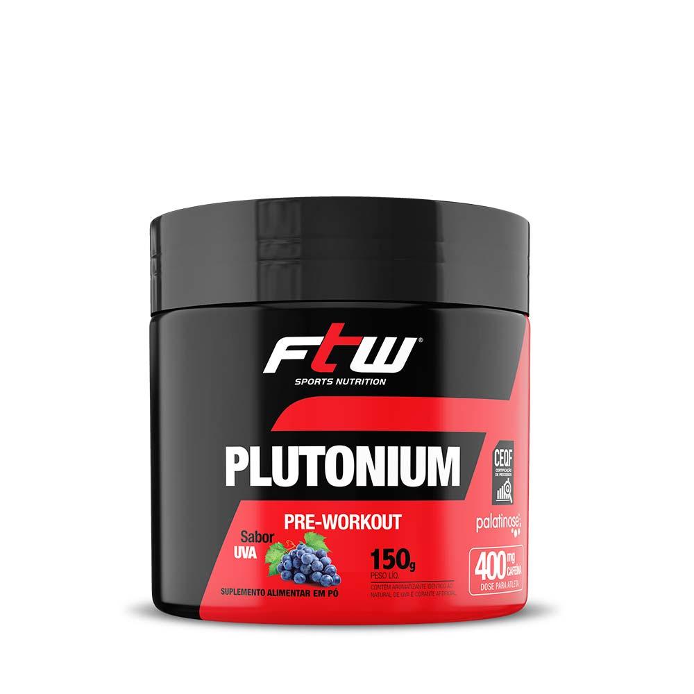 Plutonium Pre Workout 150g Sabor Uva - FTW