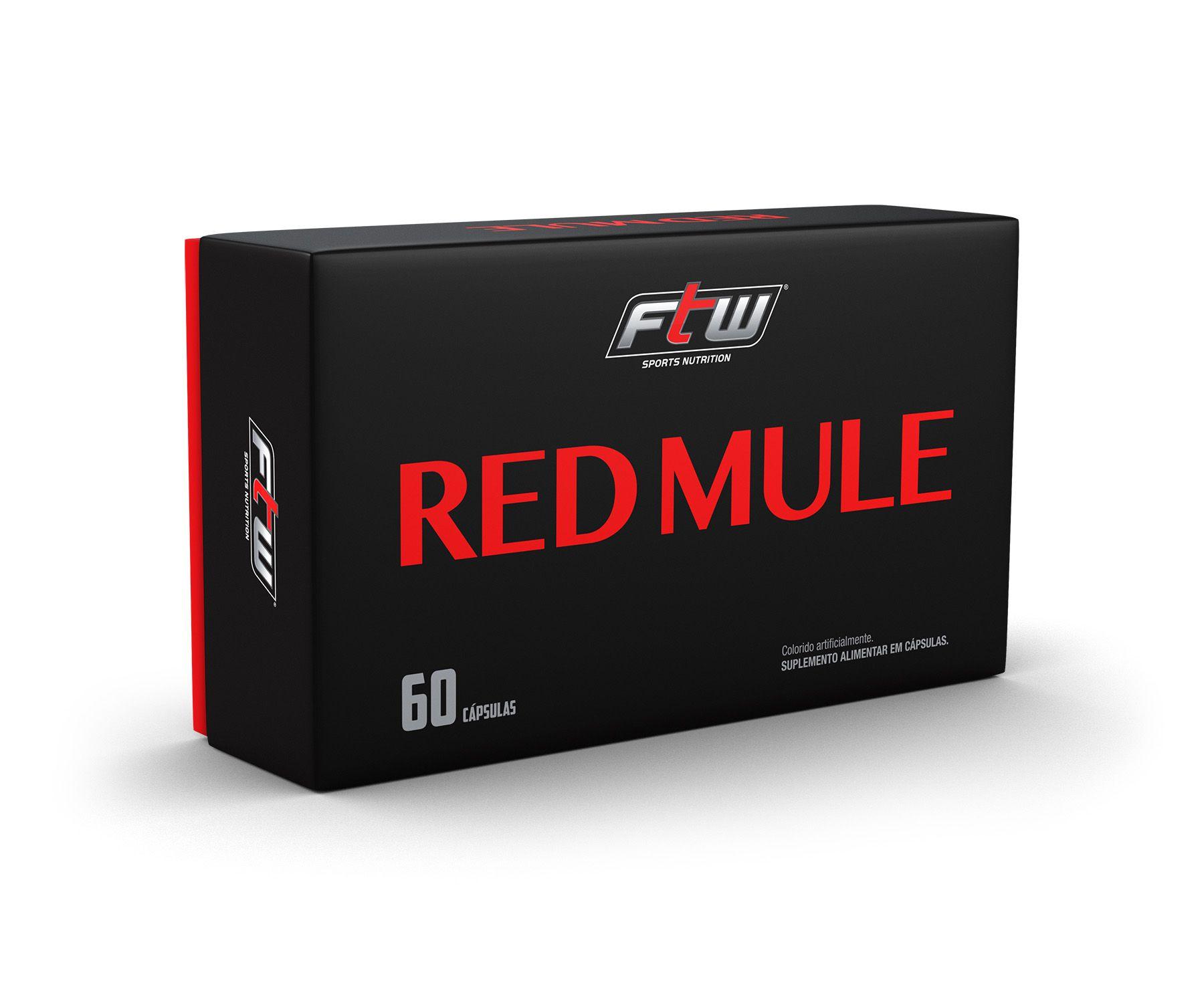 RED MULE FTW - 60 CÁPSULAS