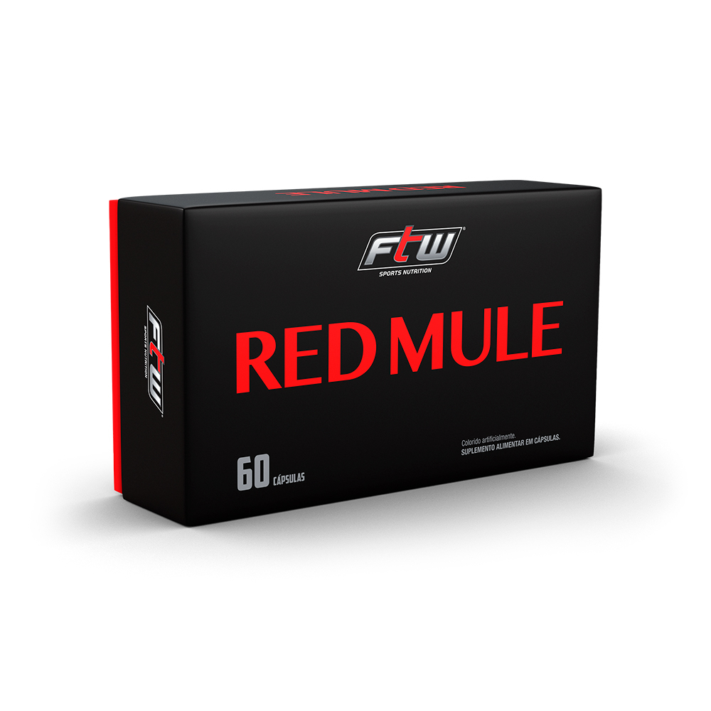 REDMULE FTW - 60 CÁPSULAS