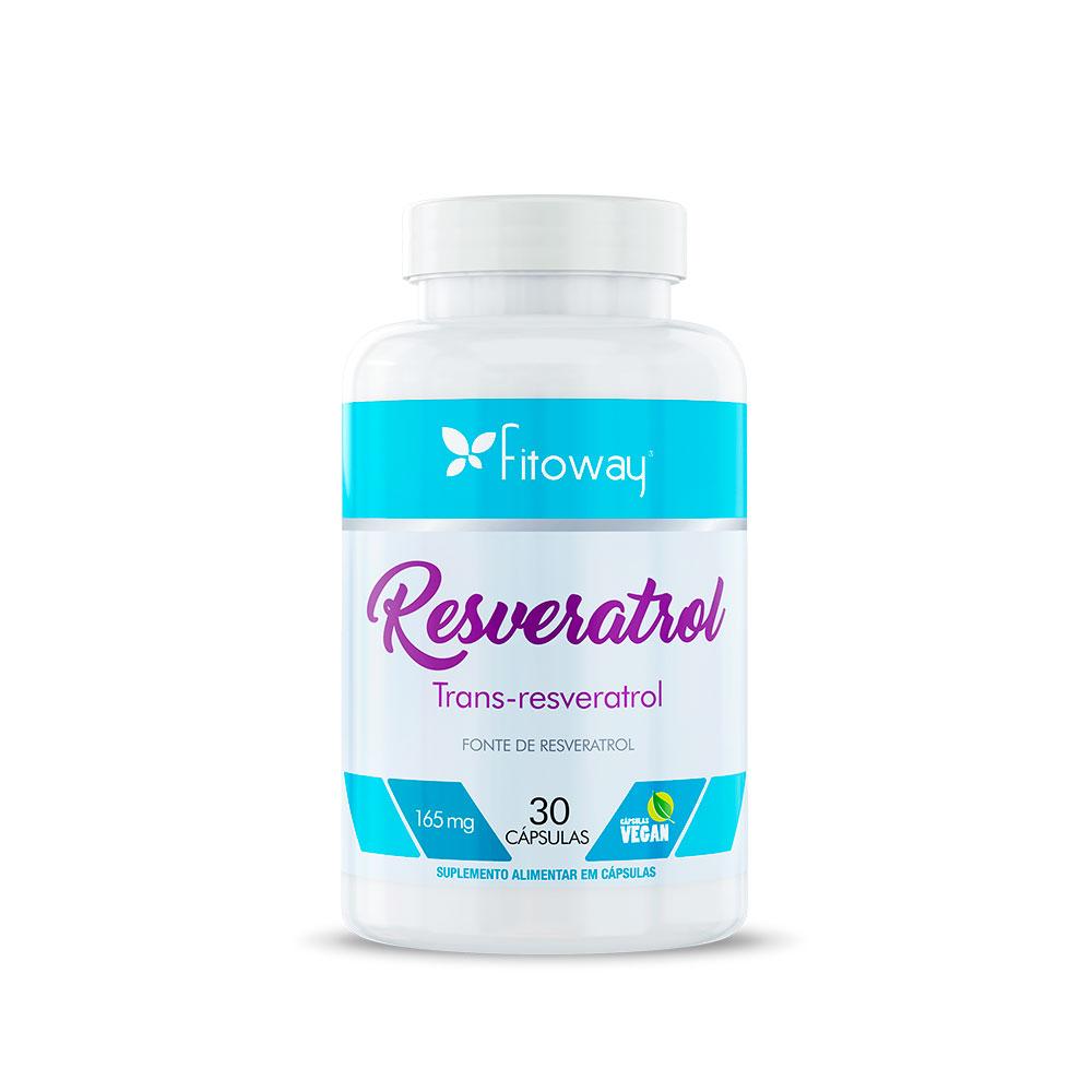 Resveratrol Fitoway - 30 cáps